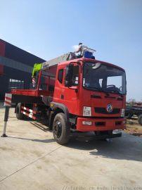 广西8吨杰龙随车吊整车不超重可做自卸车箱