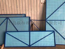厂家现货供应镀锌板爬架网,高层建筑冲孔防护网