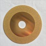 金色镀钛金刚石切割片