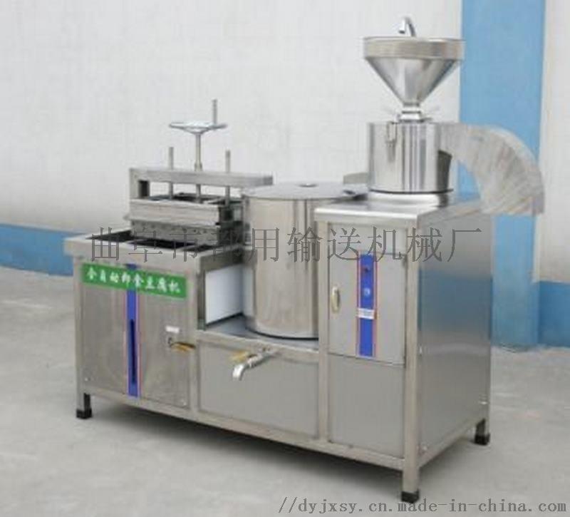豆腐流水线 商用豆腐机生产厂家 利之健食品 豆腐皮