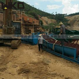 全套洗砂设备 产量100-150洗砂机 螺旋洗砂机