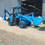 两头忙装载机 铲土铲沙挖沟用前铲后挖