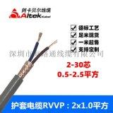 多芯电缆rvv厂家rvvp 屏蔽电缆rvvp
