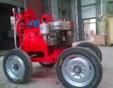 TXU-75行走式探水钻机-石家庄产带轮子的钻机