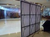 天津铝合金拉网展架户外展示架定做 拉网展架定制找富国极速发货