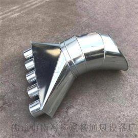直销白铁皮风管 广东不锈钢螺旋风管生产厂家