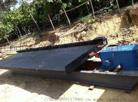 选矿设备、单层、多层摇床、大槽钢选金摇床