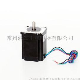 供应刻字机配件 S57BYGH混合式步进电机56mm 刻字机绘图仪器配件
