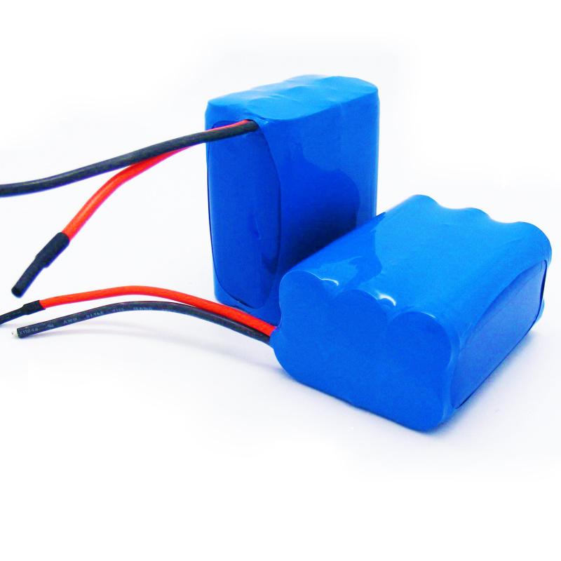 18650锂电池三串两并带保护板11.1V锂电池组