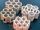 轻瓷散堆填料,轻瓷规整填料蜂窝陶瓷