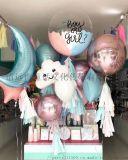 清远刷爆朋友圈的生日派对气球布置ins网红风