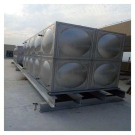不锈钢消防水箱 组合不焊接水箱 霈凯水箱
