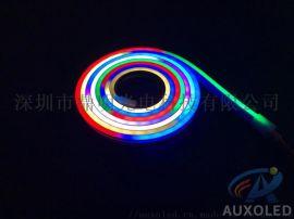 DC5V硅胶套管LED霓虹RGB幻彩软灯条