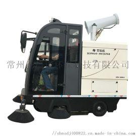 2000AW雾炮高压冲洗电动驾驶扫地车