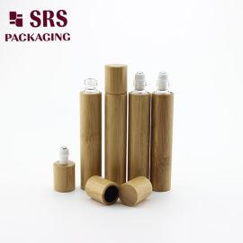 15ML毛竹透明玻璃走珠瓶精油分装空瓶