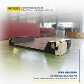 无轨电动平车装卸搬运钢包车 蓄电池供电电动无轨平车