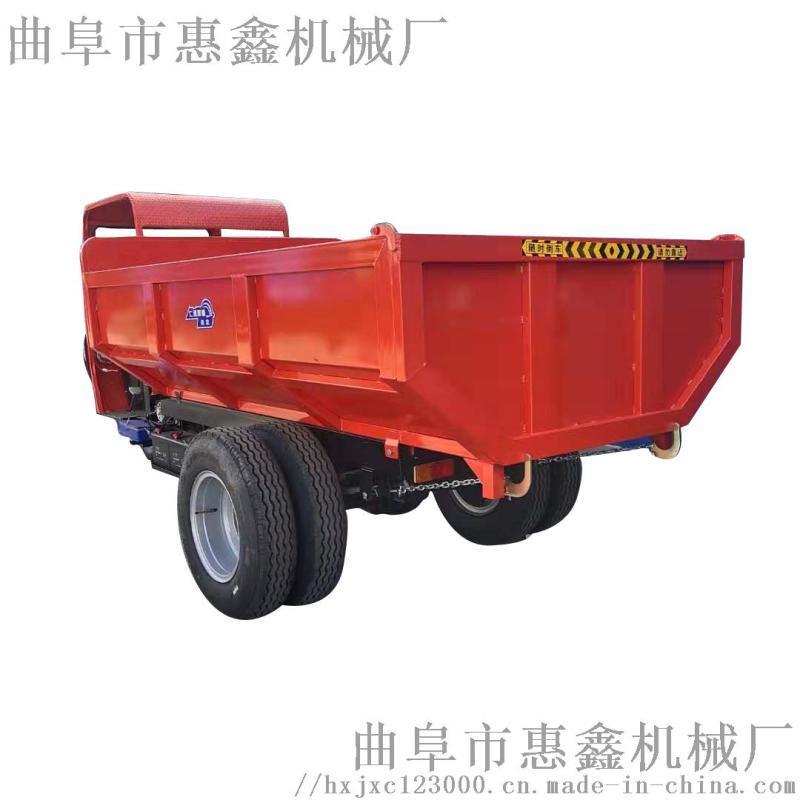 建筑用工程车 小型电动三轮车  液压自卸工程车