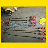 单肢钢丝绳成套索具, 钢铁、用于化工、运输、港口等