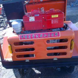 工地拉沙用前卸式翻斗车/出口非洲的载重一吨翻
