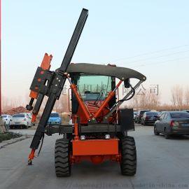 捷克小型打桩机 定制型大空压机打拔钻一体机 护栏