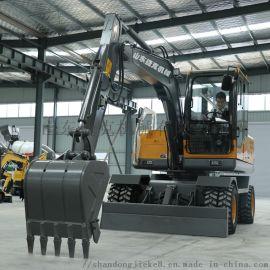 全新农用轮式挖掘机 捷克 小型轮式挖机生产厂家