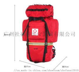 多功能登山包中国卫生医疗出诊双肩背包应急救灾背囊