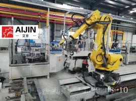 厂家**机器人第七轴高速桁架设备