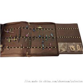 医疗骨科接骨板样品展示包 螺丝钉松紧卡位收纳工具包