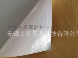生产:白膜加筋贴面 PVC白膜夹筋纸