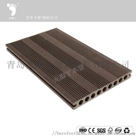 适用于海边栈道铺板木塑防腐耐磨户外木塑地板