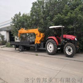 拖拉机牵引吊车厂家 6吨拖拉机牵引吊车