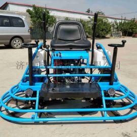 100型座驾混凝土抹光机水泥路面磨平机双磨盘提浆机