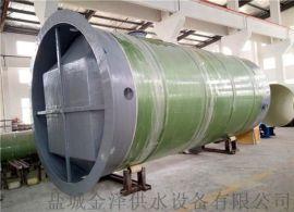 3000x5600mm一体化污水泵站3米直径5.6米高地埋一体化污水提升泵
