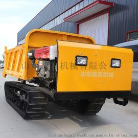 动力强劲3吨履带运输车 捷克 自卸式农用运输车