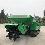 山東自走式多功能施肥開溝機報價履帶式農用田園管理機