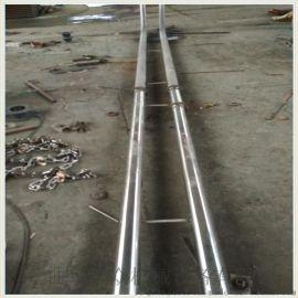 链条式输送机 密封管链输送机链板 Ljxy 环型管