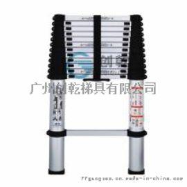 广州创乾客户购买4.5米人字梯可伸缩梯