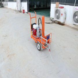 现货路面划线机 车位手推式冷喷划线机 热熔划线机