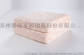 追求产品细节,馨格家纺为您推荐双面印花法兰绒毯
