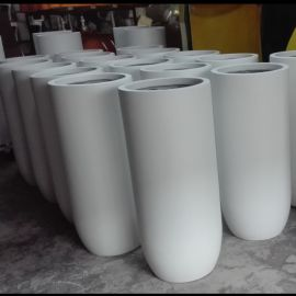 玻璃钢圆形花盆 中山乐居易G-0001花盆