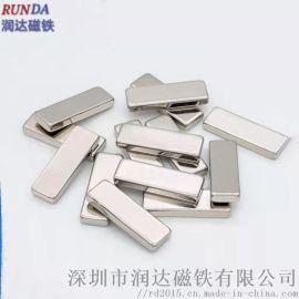 方形磁铁,大规格方块磁铁,方形打孔强力磁铁