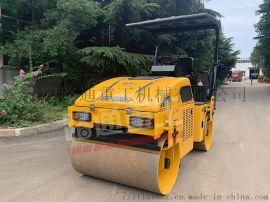 3吨路通双钢轮压路机高配车型强劲动力高压实度