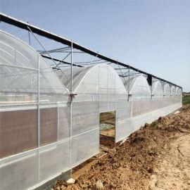 连栋钢结构大棚建设 薄膜钢管蔬菜种植大棚