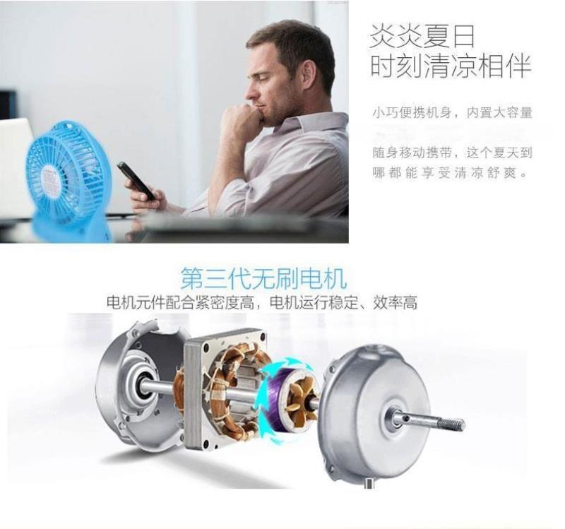 Usb迷你充電風扇跑江湖地攤15元模式新奇暴利產品批發
