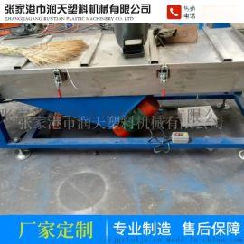 塑料颗粒直线振动筛杂机不锈钢方形筛选机供应直线振动筛设备