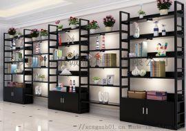定制多功能简约超市图书馆货架展示柜