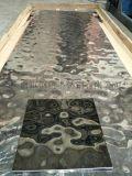 304不鏽鋼鏡面水波紋板廠家 水波紋鏡面不鏽鋼板
