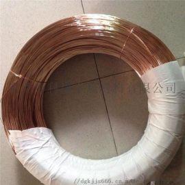 热销 TU2进口紫铜线  高纯度镀锡加工紫铜线