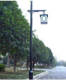 庭院高杆景观灯欧式草坪 复古室外小区公路灯家用