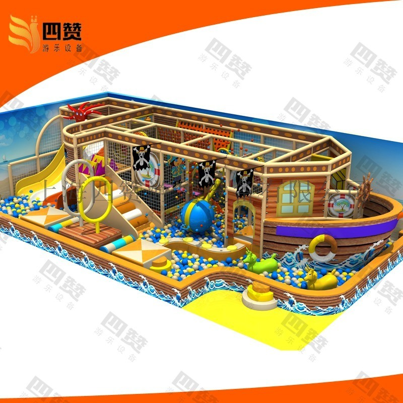 室内儿童乐园,儿童乐园厂家,安徽游乐设备,淘气堡